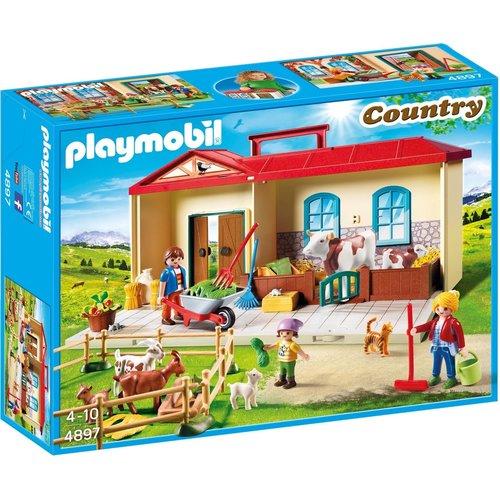 Playmobil Country - 4897 - Meeneem Boerderij - SALE