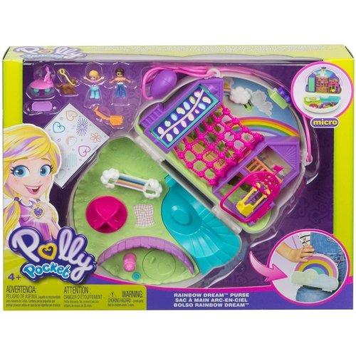 Polly Pocket Tiny Power - Rainbow Dream Purse - SALE
