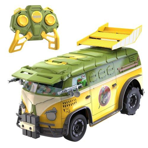 Teenage Mutant Ninja Turtles Party Van Afstandsbestuurbare Turtles Camper