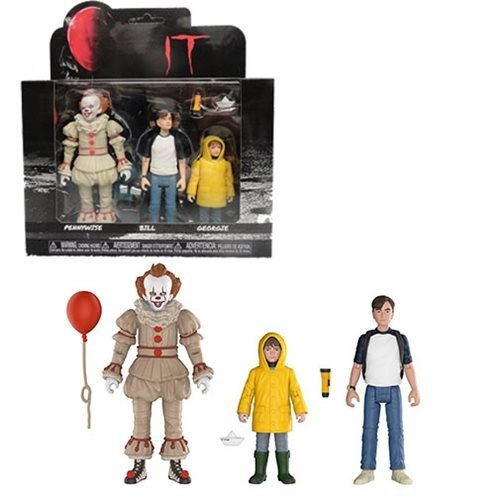IT IT - Pennywise, Bill, and Georgie (3-Pack)
