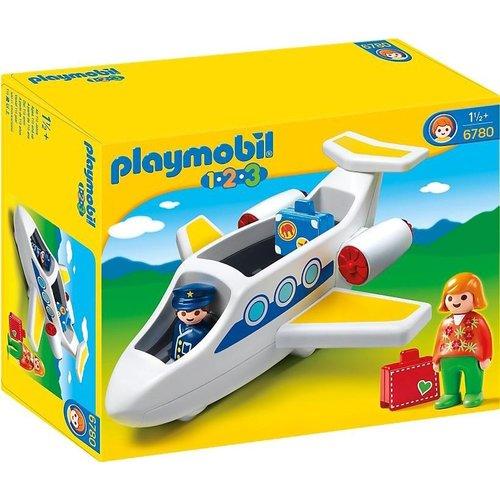 Playmobil 6780 - 123 - Passagiersvliegtuig
