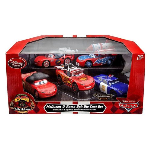 Disney Cars MCQueen O-Rama with Rally McQueen with Rally McQueen (5 Pack) (1:43) - SALE