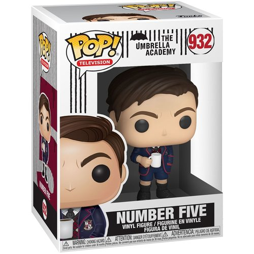 The Umbrella Academy Funko Pop  - Number Five - No 932 - SALE