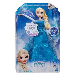 Disney Frozen Frozen - Singing Elsa with Lights *** Italian Version ***