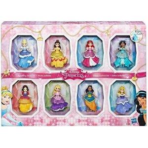 Disney Princess Sparkling Style Set - 8 Poppen