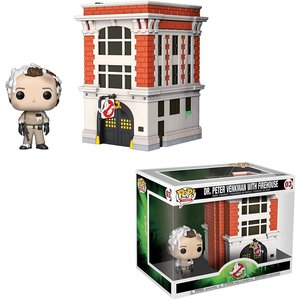 Ghostbusters Funko Pop - Dr. Peter Venkman with FireHouse - No 03