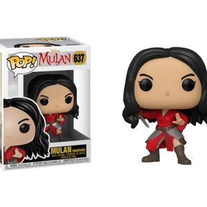 Mulan Funko Pop - Mulan (Warrior) - No 637
