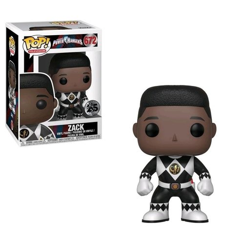 Power Rangers Funko Pop - Zack -  No 672 - SALE