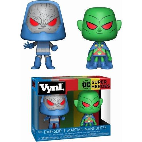 DC Superheroes Funko Vynl - Darkseid + Martian Manhunter