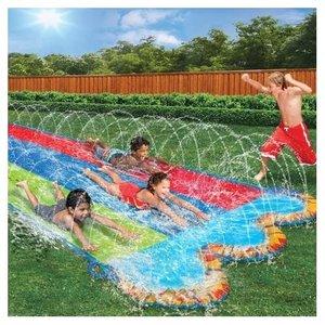 Banzai Triple Racer Water Slide - 3 Persoons Waterglijbaan