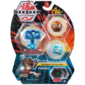 Bakugan Starter Pack with 3 Bakugan - Hydranoid