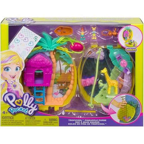 Polly Pocket Tropicool - Pineapple Purse