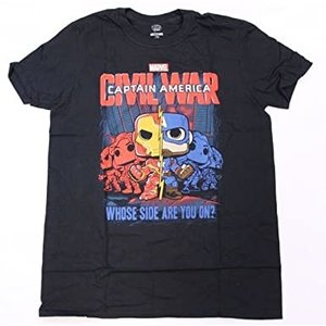 Marvel Captain America Civil War T-Shirt