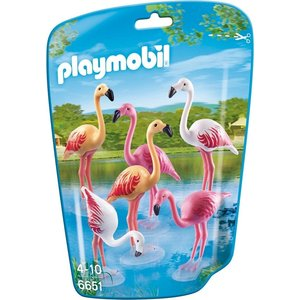 Playmobil 6651 - Group of flamingos