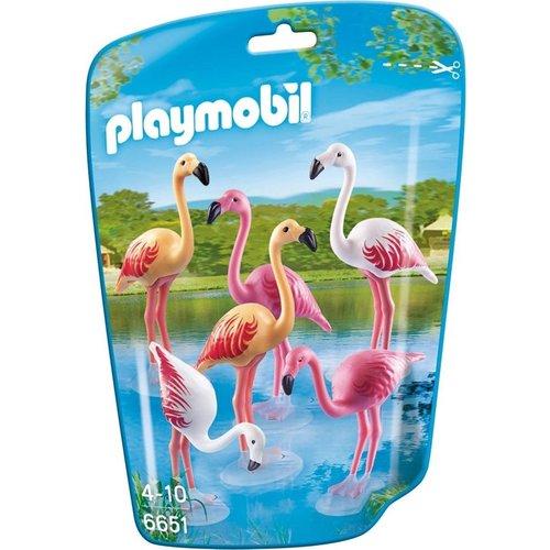 Playmobil 6651 - Groep flamingo's