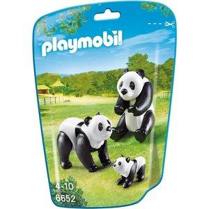 Playmobil 6652 - Panda's met baby