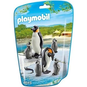 Playmobil 6649 Penguins With Babies