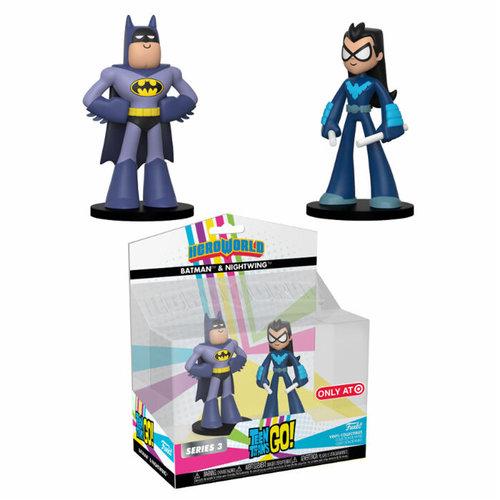 Teen Titans Go! Funko Vinyl Collectibles - Heroworld Batman & Nightwing