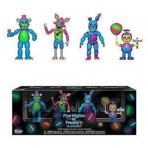 Five Nights at Freddy's Five Nights At Freddy's - Blacklight Freddy, Foxy Springtrap, Balloon Boy - 4 Pack