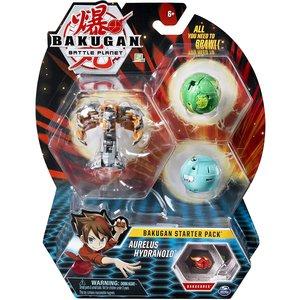 Bakugan Starter Pack met 3 Bakugan - Aurelus Hydranoid