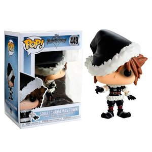 Kingdom Hearts Funko Pop - Sora (Christmas Town) - No 449