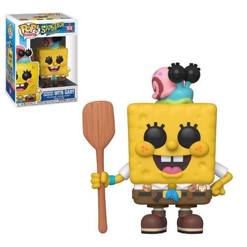 Spongebob Funko Pop - Spongebob Squarepants with Gary - No 916