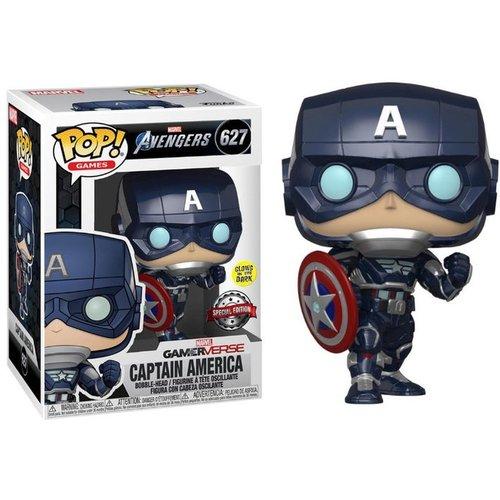 Avengers Funko Pop - Captain America (Glows in the Dark) - No 627