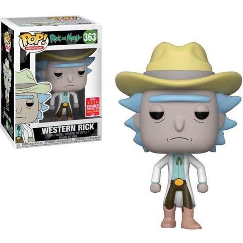 Rick And Morty Funko Pop - Western Rick - No 363 - SALE