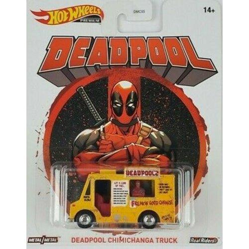Hot Wheels Deadpool-  Chimichanga Truck