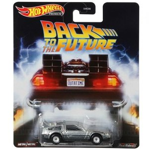Hot Wheels Back To The Future- Time Machine - SALE