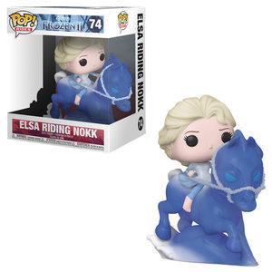 Disney Frozen Funko pop-Elsa Riding Nokk