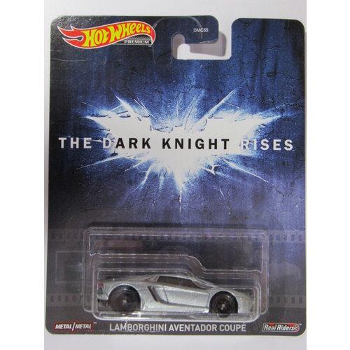 Hot Wheels The Dark Knight Rises Lamborghini Aventador Coupe - Batman -SALE