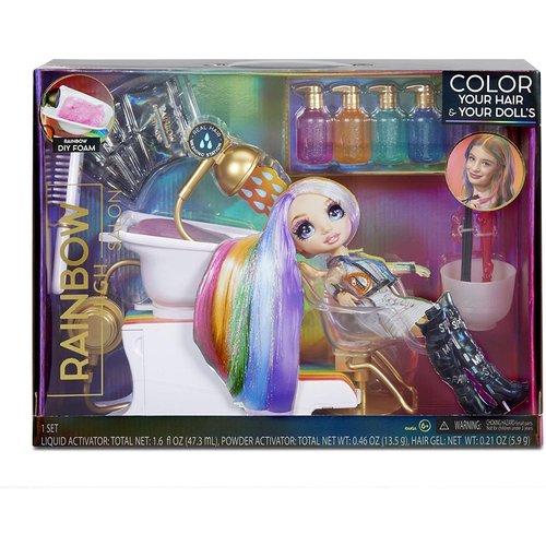 Rainbow High Rainbow High Salon Playset Poppenhaarstylingset