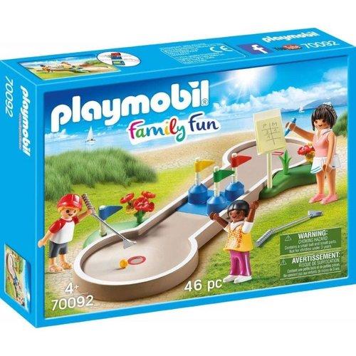 Playmobil Family Fun - 70092 - Minigolf