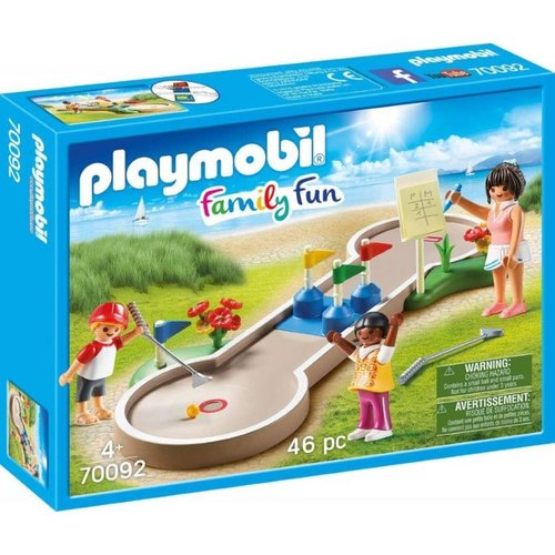 Playmobil Family Fun - 70092 - Minigolf - SALE