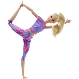 Barbie Made To Move Paars/Roze outfit(GXF04)