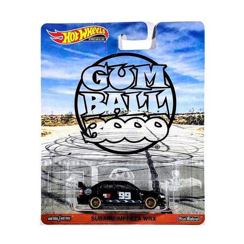 Hot Wheels Gum Ball 3000 - Subaru Impreza WRX
