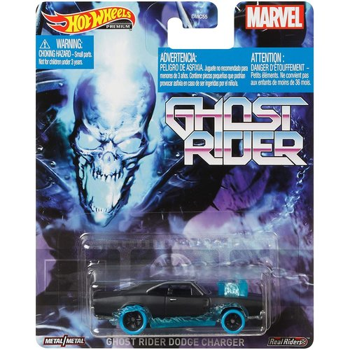 Hot Wheels Ghostrider - Ghost Rider Dodge Charger