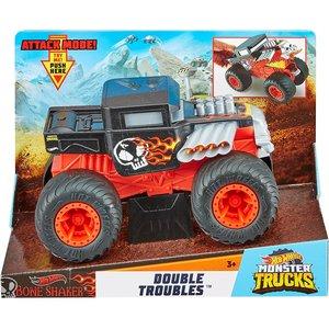 Monster Jam Double Troubles - Monster Trucks - Bone Shaker