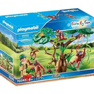 Playmobil Family Fun - 70345 - Oerangoetans in a Tree