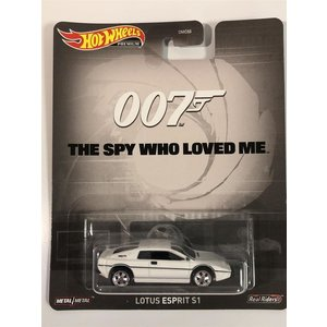 Hot Wheels 007 The Spy Who Loved Me - Lotus Esprit S1