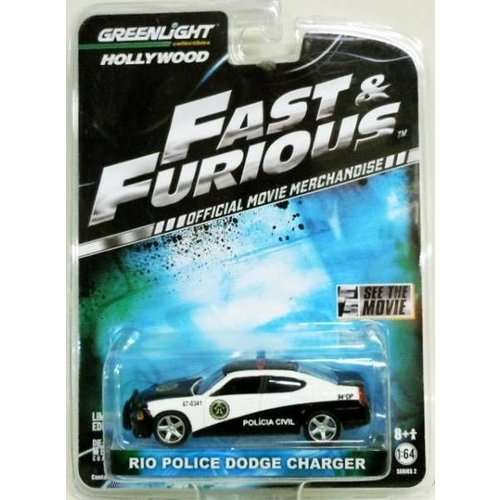 Hot Wheels Fast & Furious - 2011 Rio Police Charger
