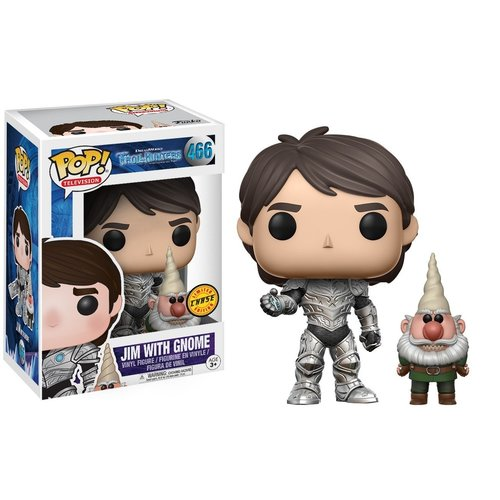 Trollhunters Funko Pop - Jim With Gnome - No 466 - CHASE - SALE