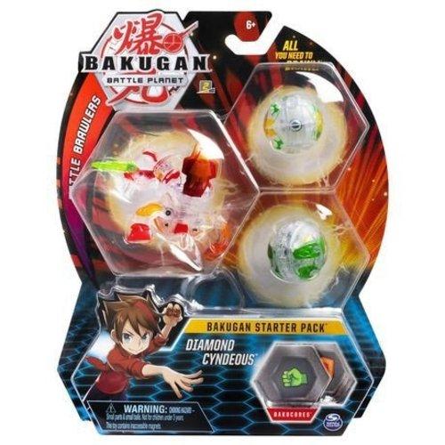 Bakugan Starter Pack met 3 Bakugan - Diamond Cyndeous