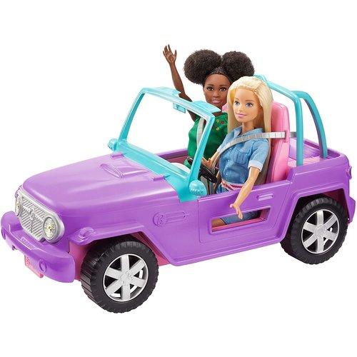 Barbie Barbie Beach Jeep Purple