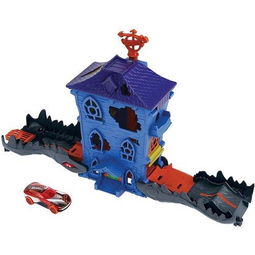Hot Wheels City Robo Beasts - Croc Mansion Attack