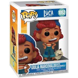 Disney Luca Funko Pop - Giulia Marcovaldo with Machiavelli - No 1052