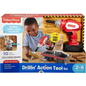 Fisher Price Drillin' Action Tool Set