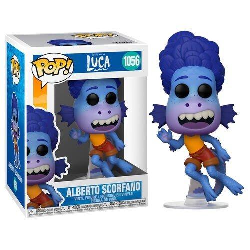 Disney Luca Funko Pop - Alberto Scorfano (Sea) - No 1056