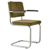 Zuiver Ridge Rib chair with armrests